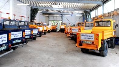 Fahrzeugflotte Winterdienst