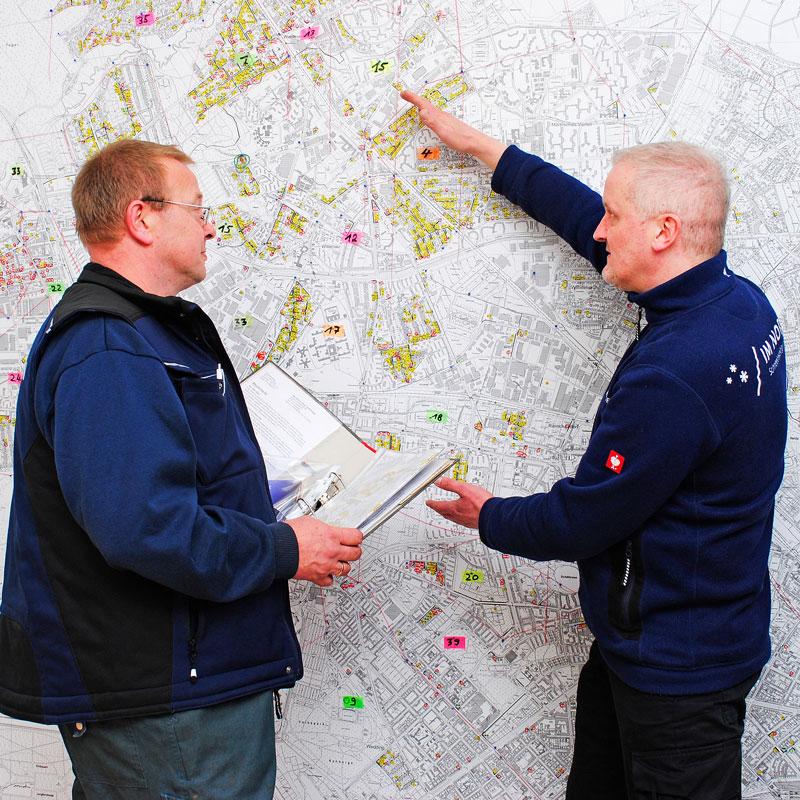 Tourenplanung Winterdienst IM NORDEN GmbH Berlin