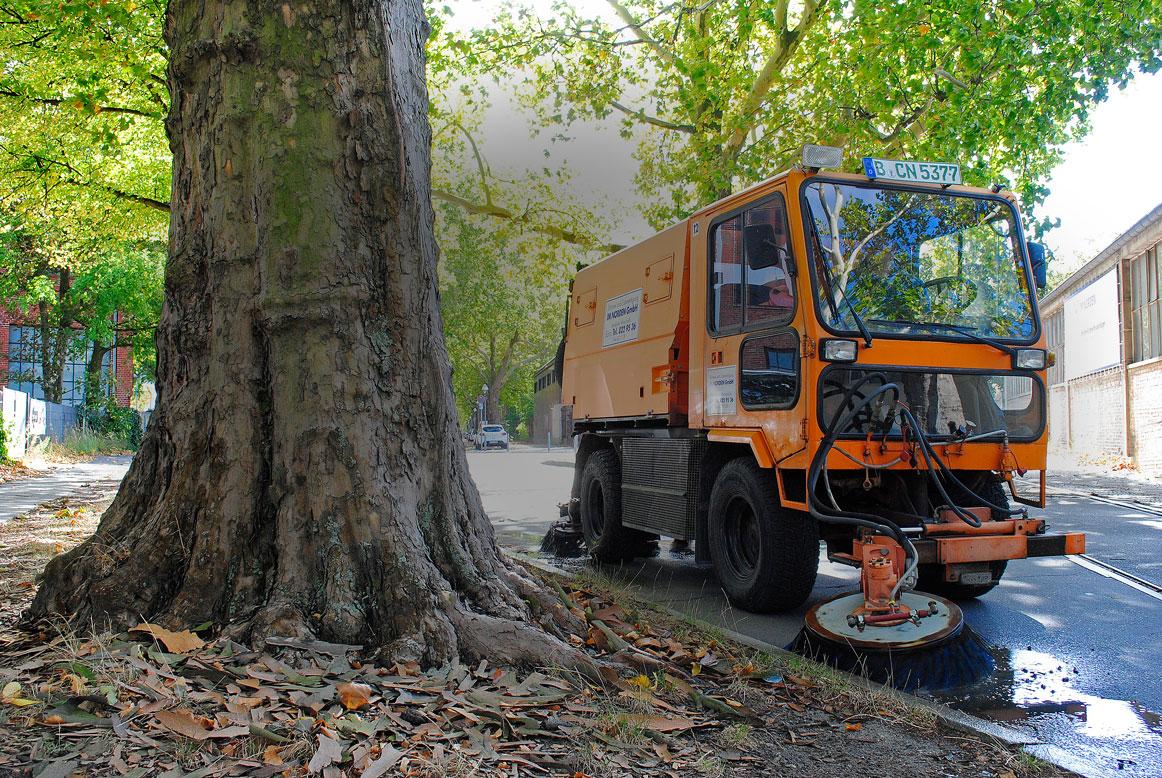 Straßenreinigung Streugutbeseitigung Berlin IM NORDEN GmbH