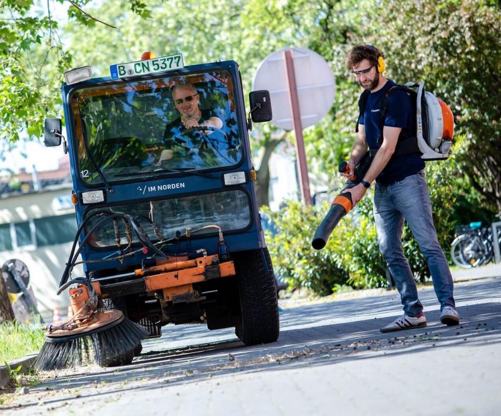 Straßenreinigung | IM NORDEN GmbH